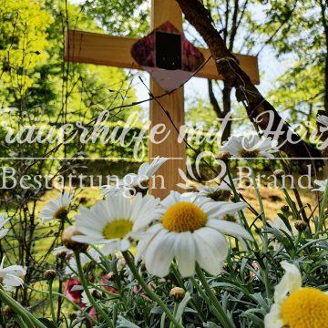 Tafel für Grabkreuz